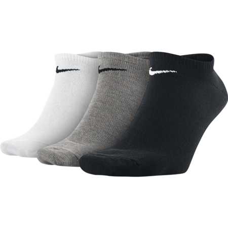 Nike Cushioned No-Show Sock, 3 Pair, Multi Color