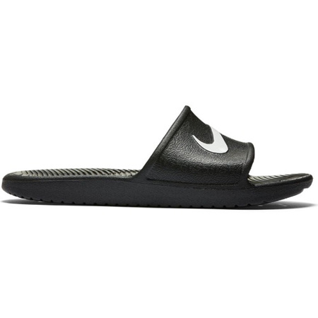 Nike Men's Kawa Shower Slide, Black/White