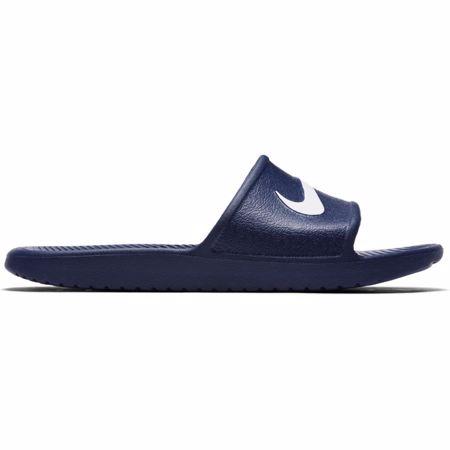 Nike Men's Kawa Shower Slide, Midnight Navy/White