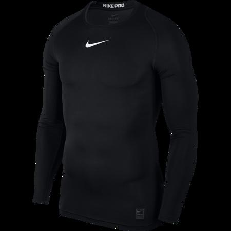 Nike Pro LS Compression Top, Black