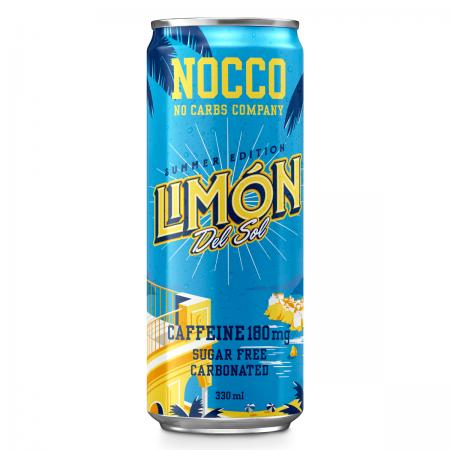 NOCCO BCAA Lemon, 330 ml