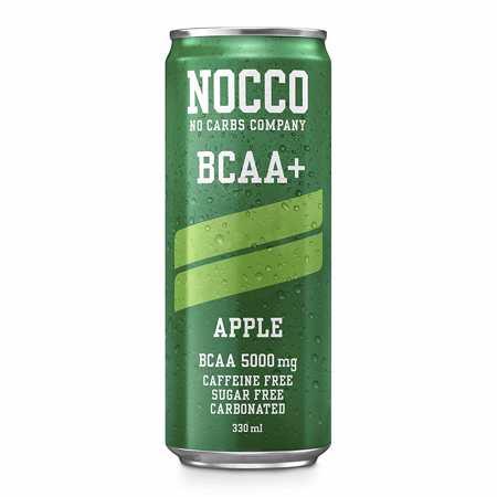 NOCCO BCAA+ Apple, 330 ml
