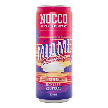 NOCCO BCAA Miami Strawberry, 330 ml