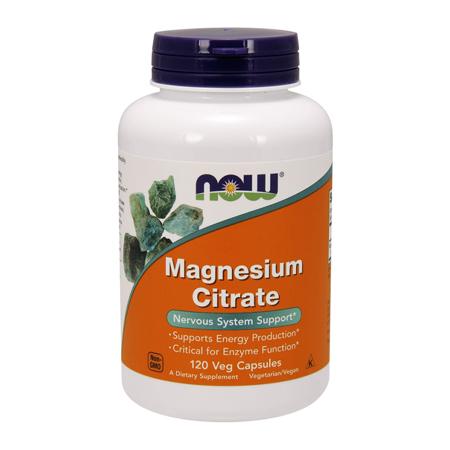 Magnesium Citrate, 400mg, 120 kapsul