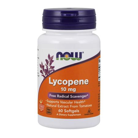 Lycopene, 10 mg, 60 softgels