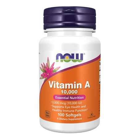 Vitamin A, 10 000 IU, 100 softgels