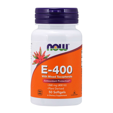 Vitamin E-400, Natural, 50 softgels