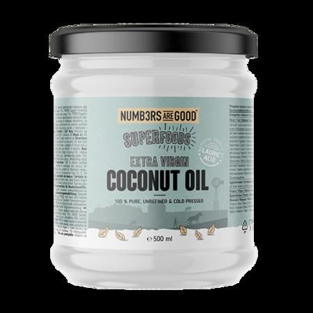 Extra Virgin Coconut Oil, Organic, 500 ml