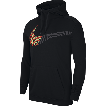 Nike Dri-Fit Fleece Hoodie, Black
