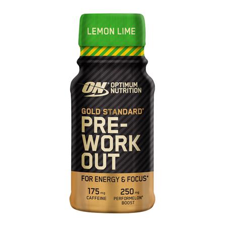 Gold Standard Pre-Workout Shot, 60 ml - Lemon