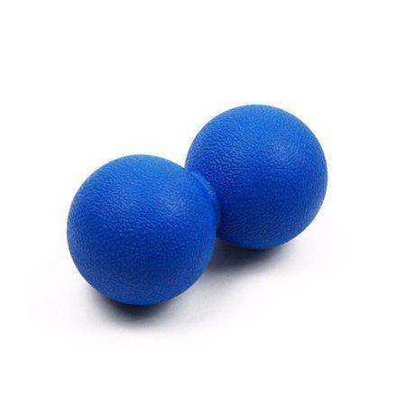 Massage double Lacrose Ball TPE, 63 mm/260 g