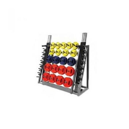 Body pump set rack