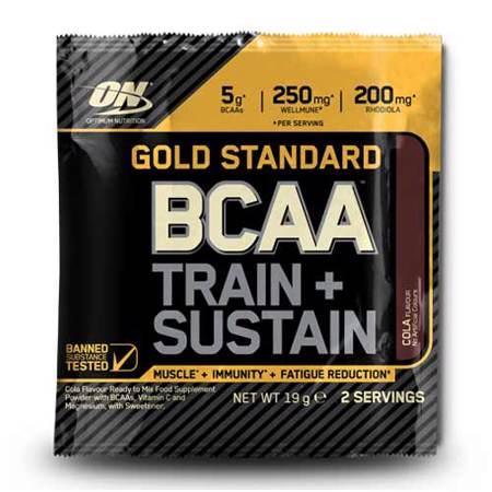 Gold Standard BCAA, Train + Sustain, 19 g