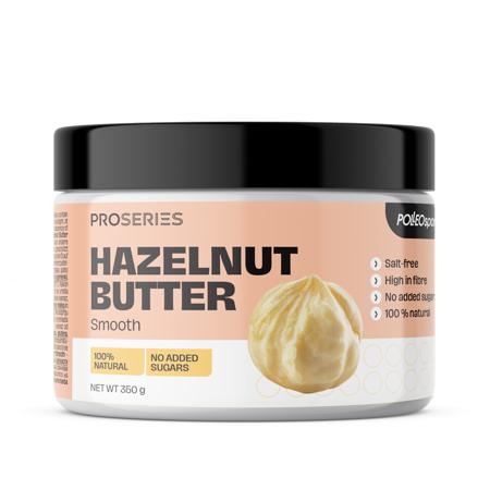 Proseries Hazelnut Butter, Smooth, 350 g