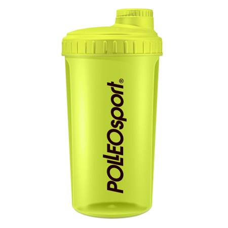 Shaker Polleo Sport, Rumeni, 700 ml