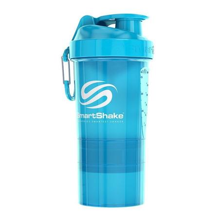 SmartShake Original2Go One, Neon Blue, 600 ml