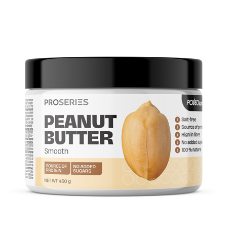 Proseries Peanut Butter, Smooth, 450 g