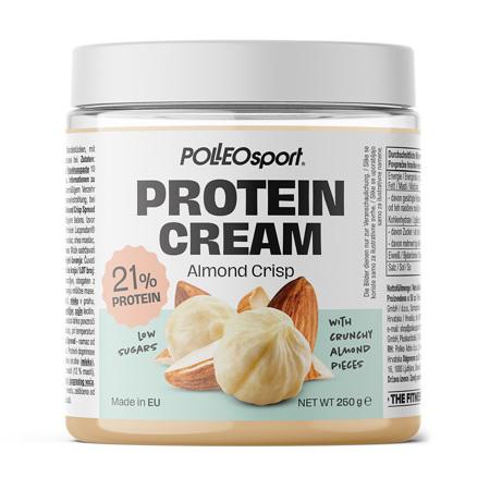 Polleo Sport Protein Cream Almond Crisp, 250 g