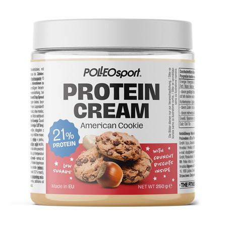 Polleo Sport Protein Cream American Cookie, 250 g