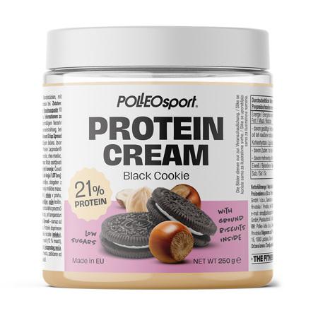 Polleo Sport Protein Cream Black Cookie, 250 g