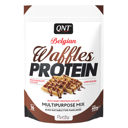 Waffles Protein, 480 g