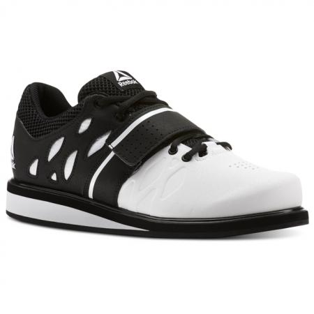 Reebok Crossfit Lifter PR Shoes, White/Black