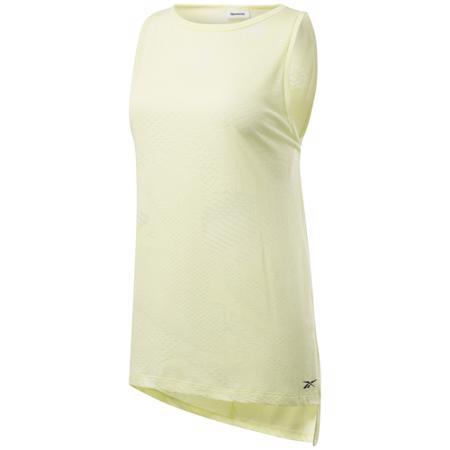 Reebok Burnout Women's Tank Top, Lemon Glow