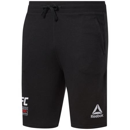 Reebok UFC FG Fight Week Shorts, Night Black