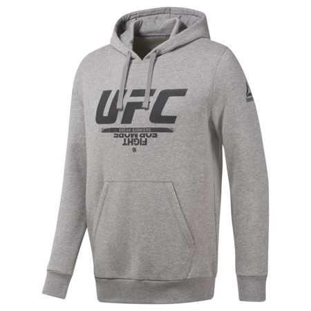 Reebok UFC Fan Gear Hoodie, Grey
