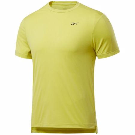 Reebok United By Fitness Perforated Tee, Chartreuse