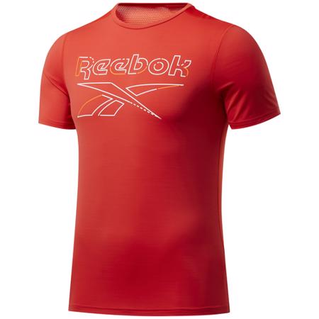 Reebok Workout Ready Activchill Graphic SS Shirt, Instinct Red