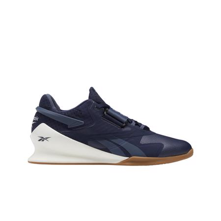 Reebok Legacy Lifter II Shoes, Vector Navy/Chalk