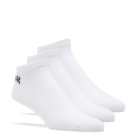 Reebok Active Core Low Cut Socks 3 Pack, White