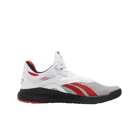 Reebok Nano X Women's Shoes, White/Black/Instinct Red