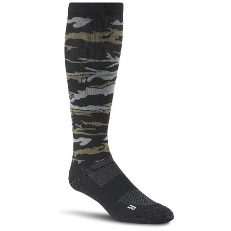 Crossfit Unisex Compression Knee Sock, black