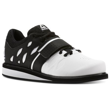 Reebok Crossfit Lifter PR Shoes, Black/White