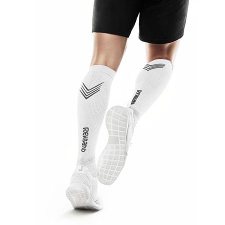 Kompresijske čarape Rx, white, par