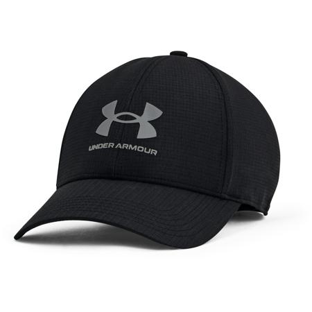 UA Isochill Armourvent STR Cap, Black/Pitch Grey