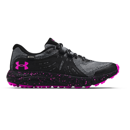 UA Charged Bandit Trail GTX Women's Shoes, Black/Pink
