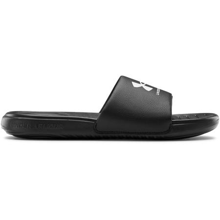 UA Ansa Fixed Slides, Black/White