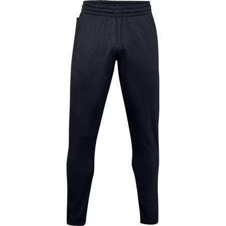 UA Armour Fleece Pants, Black