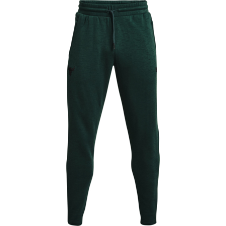 UA Project Rock Charged Cotton Fleece Pants, Fisher Green