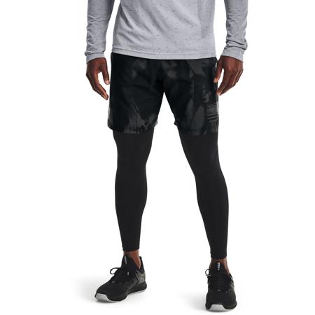 UA Woven Adapt Shorts, Black/Pitch Grey