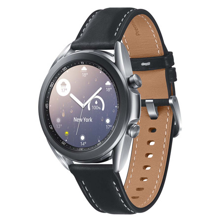 Samsung Galaxy Watch 3, 41 mm, BT, Mistično srebrna