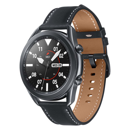 Samsung Galaxy Watch 3, 45 mm, BT, Mistično črna