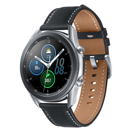 Samsung Galaxy Watch 3, 45 mm, BT, Mistično srebrna