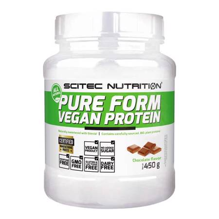 Pure Form Vegan Protein, 450 g