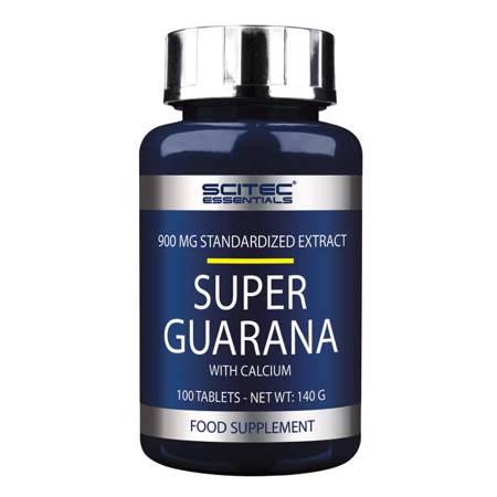 Super Guarana, 100 tableta