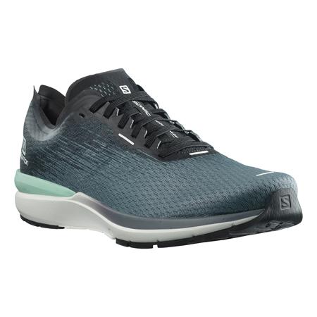 Salomon Sonic 4 Accelerate, Running Shoes, Quiet Shade/White/Black
