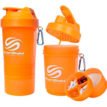 SmartShake Neon Orange, 400 ml